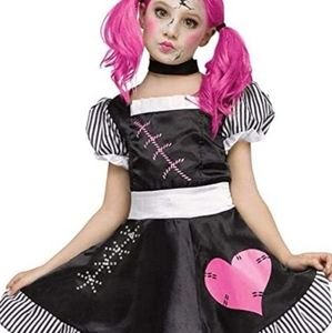 Doll Halloween Costume With Accessories